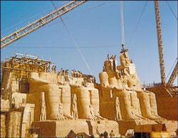 Абу-Симбел. Перенос храма на новое место